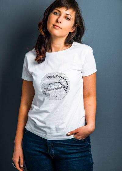 Froncla bela majica sa printom